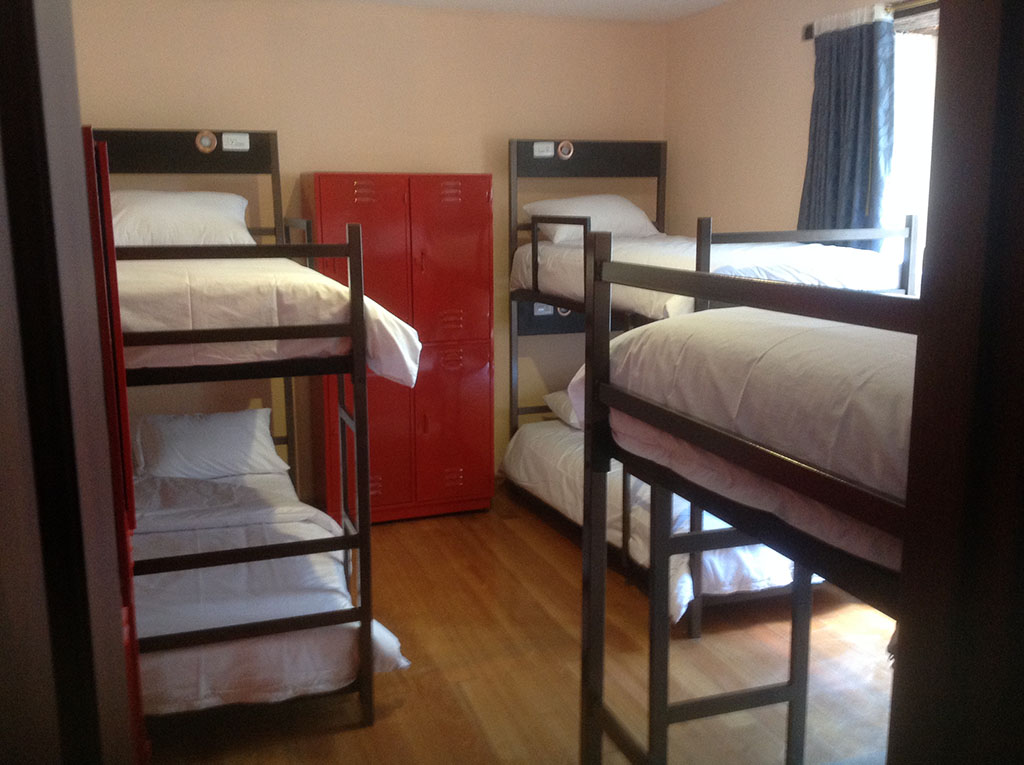 Shared Dorm Bunk Bed In A Dormitory Huasilodge
